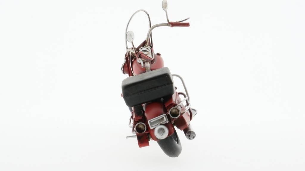 Eliassen Miniatuurmodel blik Harley Motor met koffer