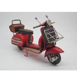 Eliassen Miniatuurmodel blik Scooter rood 1