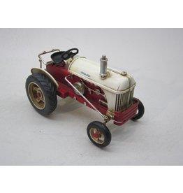Eliassen Miniaturtraktor aus Metall weiß