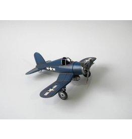 Eliassen Miniaturmodell Flugzeug blau