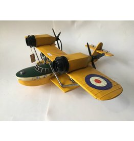 Eliassen Miniaturmodell Boot Flugzeug