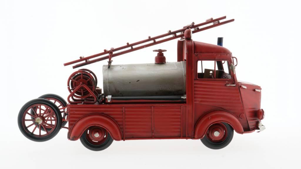 Eliassen Miniatuurmodel blik Brandweerwagen met watertank