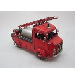 Eliassen Miniatuurmodel blik Brandweer wagen met watertank
