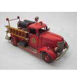 Eliassen Miniatur-Modell Zinn Feuerwehrauto mit Schlangen