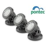 Oase LED Spot Set Pontec Pondostar 3 Teile