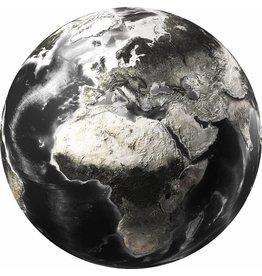 Gave Glas schilderij rond world dia 100cm