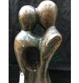 Eliassen Großes abstraktes Liebespaar der Bildbronze