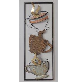 Wanddekoration Kaffee