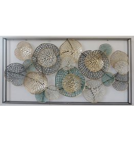 Wall decoration 3d with frame 70x135cm Spring