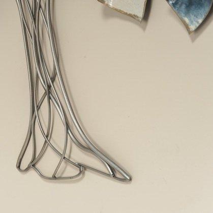 Muurdecoratie metaal 3D Aronia