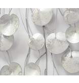 Muurdecoratie metaal 3D Anturia