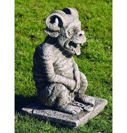 Dragonstone Waterspuwer trol groot met hoorns