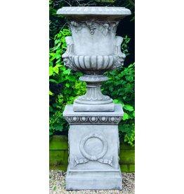 Dragonstone Garden vase large regency dragonstone