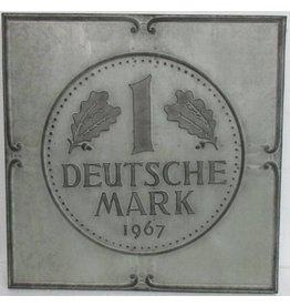 Eliassen 3D painting metal 71x71x4cm German Mark