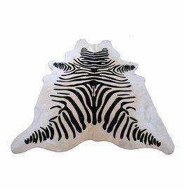 Runderhuid groot Zebra print