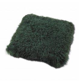 Pillow of Tibetan coat Green