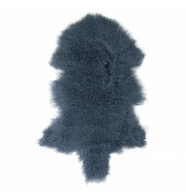 Sheepskin Tibetan Old blue