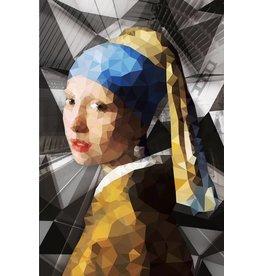 Ter Halle Glasmalerei Mädchen mit der Perle 3 80x120cm