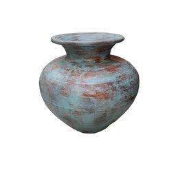 Eliassen Interieur Vase Polos Old türkis 50x60cm