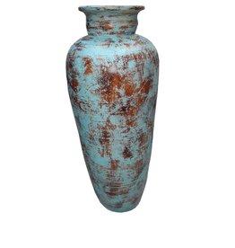 Eliassen Interior Vase Glato 100cm Old turquoise