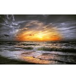 Wandkraft Wandkraft glass painting Coast 118x70cm