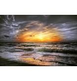 Wandkraft Wandkraft glass painting Coastal 118x70cm