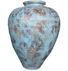 Eliassen Interieur Vaas  Spolla 100x80cm Turquoise