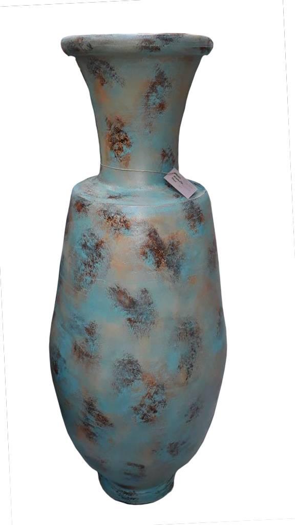 Eliassen Interieur Vaas  Prako 150cm Turquoise