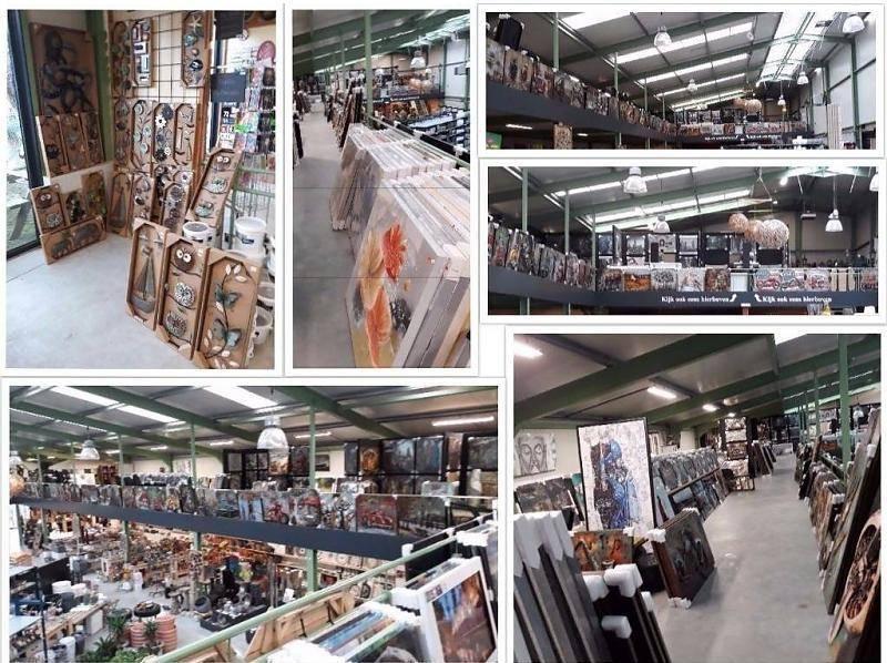 Glas schilderij 110x160cm Utrecht