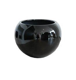 Eliassen Bulb pot around Codi high gloss in white or black 59cm