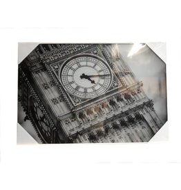 MondiArt Glass painting Big Ben 60x90cm