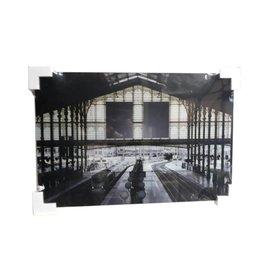 MondiArt Glasschilderij Station 60x90cm