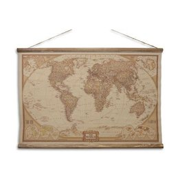 Eliassen Wall map The World 90x63cm