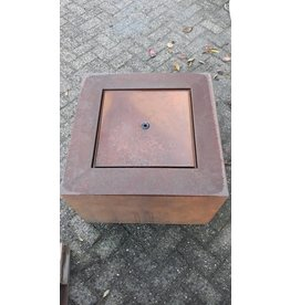 Eliassen Water table Corten steel Andrew 60x60cm