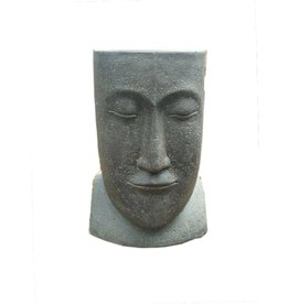 Eliassen Moai pot straight back