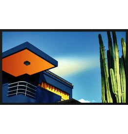Wandkraft Schilderij forex Balkon 118x70cm