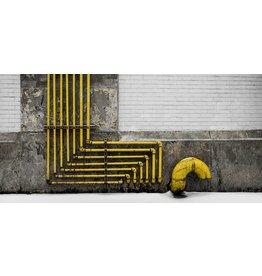 Wandkraft Painting dibond Industrie 98x48cm