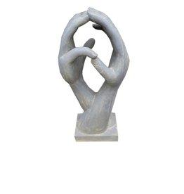 Eliassen Steinskulptur Skulptur Hände 100cm