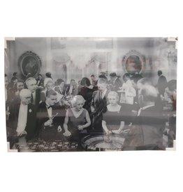 MondiArt Malerei Glas Roulette 80x120cm
