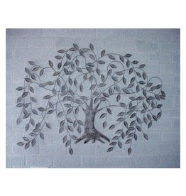 Wall decoration Weeping willow 125x85cm