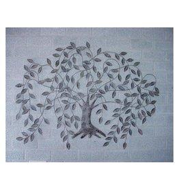 Wanddekoration Trauerweide 117x85cm
