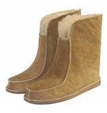 Wollen pantoffel hoog model