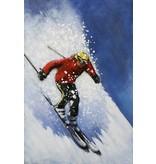 Eliassen 3D schilderij metaal 80x120cm Afdaler
