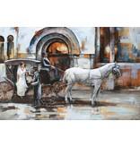 Eliassen 3D Malerei Metall 80x120cm London bei Thames - Copy