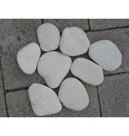 Eliassen Zierblöcke flach weiß in 2 Größen