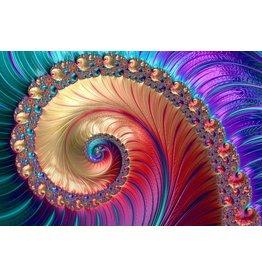 Ter Halle Glasmalerei Whirlpool 80x120cm