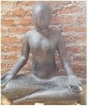 Eliassen Yoga beeld  relax 80cm