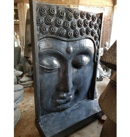 Eliassen Boeddha Muurreliëf waterornament  groot