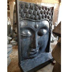 Eliassen Buddha-Wandrelief-Wasserspiel groß