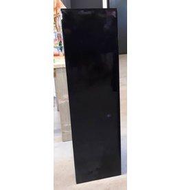 Eliassen Zuil  hoogglans Urta zwart 120cm